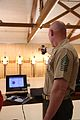 U.S. Marine Corps Sgt. Maj. Micheal P. Barrett, the sergeant major of the Marine Corps, fires a Morini CM 162EI pistol during a practice session with the 2013 Warrior Games Marine Corps shooting team at the U.S 130512-M-QS647-010.jpg