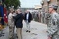 U.S. senators promote Camp Eggers Marine in Afghanistan (4760935258).jpg