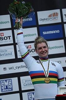 Nicky Degrendele Belgian cyclist