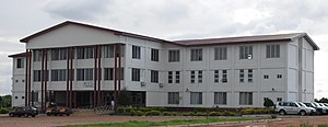 University for Development Studies - Entrance of the School of Medicine and Health Sciences block