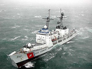 Mellon underway in the Bering Sea, 2001