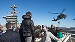 USS Carl Vinson conducts an air power demonstration. (31832183472).jpg