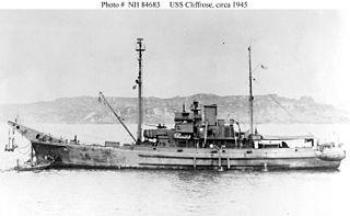 <i>Ailanthus</i>-class net laying ship