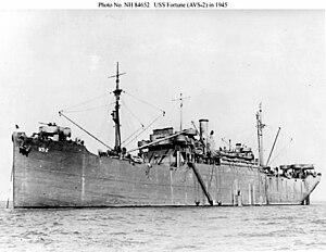 USS Fortune (IX-146) - Image: USS Fortune (IX 146)