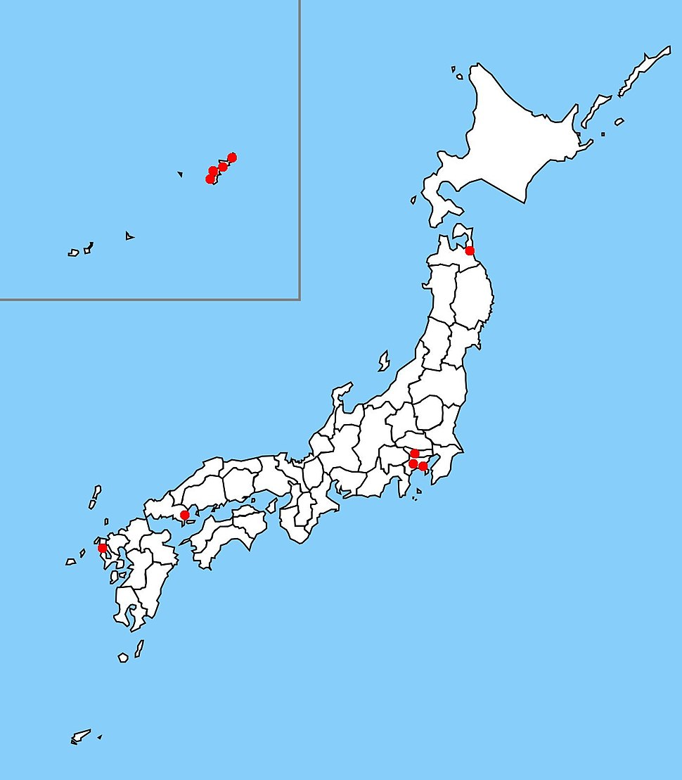 US Military bases in Japan