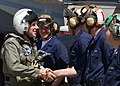 US Navy 040506-N-1407C-005 Commander, U.S. Fleet Forces Command, Adm. William J. Fallon, thanks Sailors.jpg