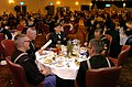 US Navy 050305-N-9712C-001 Seabees dine at the Seabee Ball on board Camp Butler, Okinawa.jpg