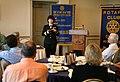US Navy 070501-N-3271W-001 Rear Adm. Karen Flaherty, Deputy Commander, Navy Medicine, National Capital Area, speaks to the Omaha Morning Rotary Club.jpg