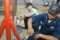 US Navy 070822-N-0807W-011 USS Juneau (LPD 10) Sailors rebuild playground equipment at the Tenshin-ryo Children's Home during a community relations project (COMREL).jpg