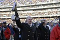 US Navy 071201-N-8273J-224 As a prior Commandant of the Naval Academy, Chief of Naval Operations (CNO) Adm. Gary Roughead pridefully sings the academy's alma mater at the conclusion of the 108th Army- Navy game held at the M^T.jpg