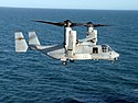 US Navy 080220-N-5180F-015 A Marine Corps MV-22 Osprey prepares to land aboard the amphibious assault ship USS Nassau (LHA 4).jpg