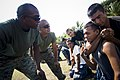 US Navy 090218-N-5549O-152 Marines and Sailors assigned to Southern Partnership Station provide martial arts training to Nicaraguan Sailors.jpg