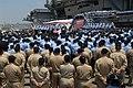 US Navy 090514-N-2344B-143 Vice President Joe Biden delivers a speech to the crew of the Nimitz-class aircraft carrier USS Ronald Reagan (CVN 76).jpg