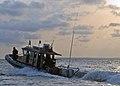 US Navy 110323-N-HI707-140 A Cameroonian Rapid Intervention Brigade (BIR) boat patrols the Cameroon coastal waters.jpg