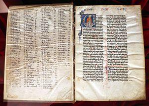 Golden Legend - Legenda Aurea, 1290 circa, Biblioteca Medicea Laurenziana, Florence