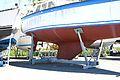 Un voilier de plaisance sur ber statique (6).JPG