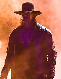 The Undertaker bei einem WWE Event.