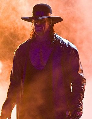 Superstar - The Undertaker, the longest tenured and one of the most famous WWE Superstars.