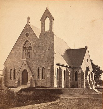 Frank Furness - Germantown Unitarian Church (1866–67, demolished ca. 1928).