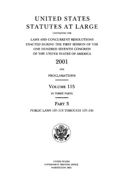 File:United States Statutes at Large Volume 115 Part 3.djvu