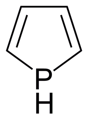 Phosphole - Image: Unsubstituted Phosphole