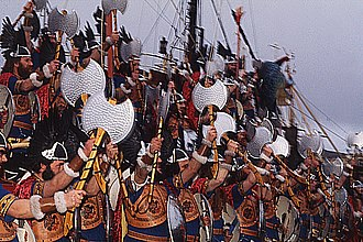 Up Helly Aa - Image: Up Helly Aa 2(Anne Burgess)30Jan 1973
