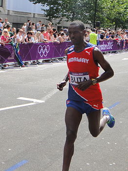 Urige Buta (Norway) - London 2012 Mens Marathon.jpg