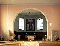 Urschenheim, Église Saint-Georges à l'intérieur.jpg