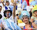 Uruguay - Costa Rica FIFA World Cup 2013 (2014-06-14; fans) 03.jpg