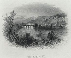 Usk Castle & Town