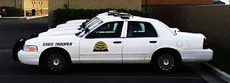 Utah Highway Patrol - Discontinued Utah Highway Patrol police cruisers