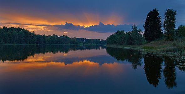 Lake Väimela Mäejärv