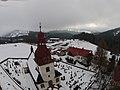 Vítkovice (okres Semily), věž kostela III.jpg