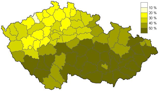 Věřící - sčítání 1991