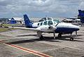 VH-FLZ 'Stephen Knight' Beechcraft 58 Baron (9169398457).jpg