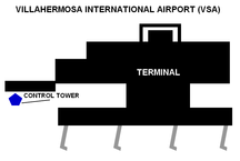 Carlos Rovirosa Perez International Airport--VSA-Terminal