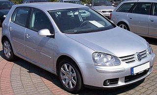 Volkswagen Golf Mk5 car model
