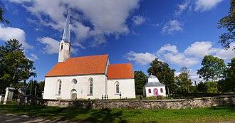Väike-Maarja Parish - Image: Vaade Väike Maarja kirikule