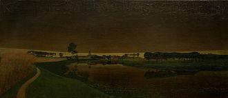 Valerius de Saedeleer - Thunderstorm over Sint-Martens-Latem
