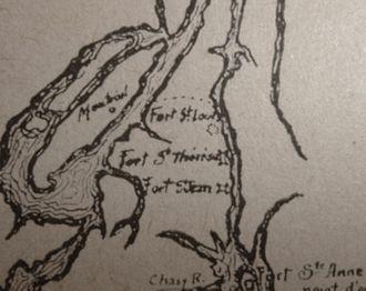 Richelieu River - Image: Vallée des forts, 1666