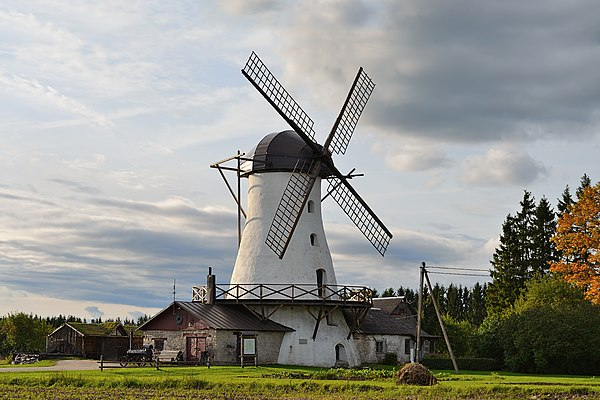 Windmill in Valtu manor.