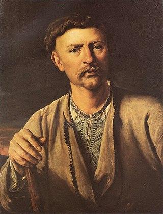 Украинский мужик. 1820