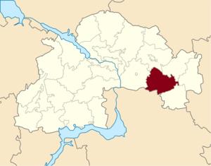 Vasylkivka Raion - Image: Vasylkivskyi Dnp Raion