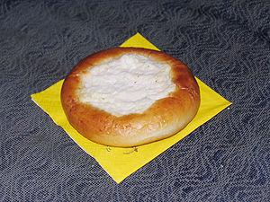 Vatrushka - A typical plain vatrushka