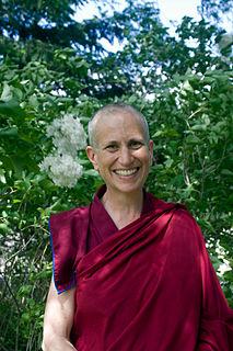 Thubten Chodron American Buddhist abbess
