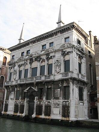 Baldassare Longhena - Image: Venezia Palazzo Belloni Battagia