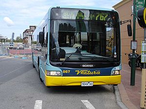 Ventura Bus Lines - Northcoast Bus & Coach bodied Scania L94UB at Chadstone Shopping Centre in April 2008