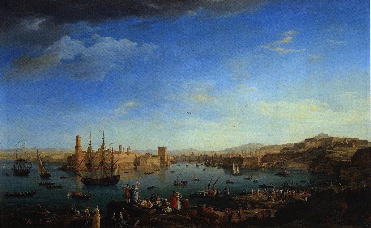 Levant wikip dia - Tableau du port de bordeaux par vernet ...