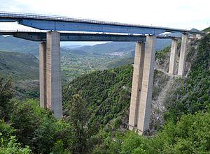 Autostrada A3 (Italy) - Rago Viaduct