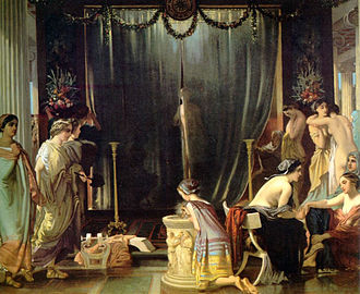 Zeuxis - Victor Mottez, Zeuxis choosing his models (1858)